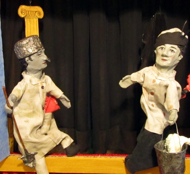 Grey Puppets